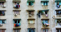 Group Old Window,Ho Chi Minh Apartment Building Stock Image - 44970451