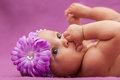 Adorable Little African American Baby Girl Looking - Black Peopl Stock Images - 44974894