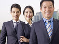 Asian Business Team Royalty Free Stock Photo - 44979245