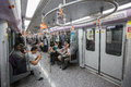 Inside Shot Of A Metro Train Stock Photos - 44980203