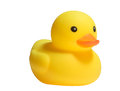Yellow Plastic Duck Toy Royalty Free Stock Photos - 44982058