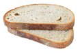 Two Slices Of Typically Czech Bread Stock Photo - 44982410