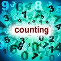 Numbers Counting Represents One Two Three And Learn Stock Photography - 44993172