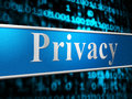 Private Privacy Indicates Secrecy Advertisement And Forbidden Royalty Free Stock Image - 44993936