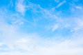 White Cloud And Blue Sky Background Image Royalty Free Stock Image - 44995976