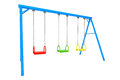 Children Colorful Playground Swing Stock Images - 44996014