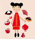 Chinese Girl Stock Photography - 45001472