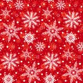 Winter Pattern With Various Falling Snowflakes Royalty Free Stock Image - 45002466