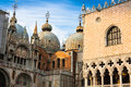 The Basilica Of San Marco In St. Marks Square In Venice, Italy Stock Photos - 45013033