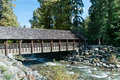 Covered Bridge Stock Images - 45015864