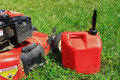 Gas Lawn Mower Stock Image - 45020051