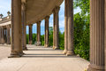 Colonnade From The 18th Century In Potsdam, Germany Royalty Free Stock Photos - 45026468