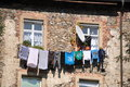 Drying Laundry Stock Photography - 45038642