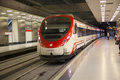 MADRID, SPAIN - MAY 28, 2014: Madrid, Tube Station Royalty Free Stock Images - 45051079