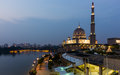 Putra Mosque In Malaysia Stock Images - 45059414