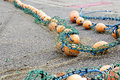 Rope With Buoys Royalty Free Stock Photo - 45064265