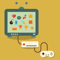 Retro Video Game Royalty Free Stock Photography - 45079937