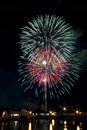 Fourth Of July Fireworks Royalty Free Stock Photography - 4516957