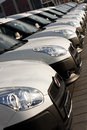 Cars In A Row Stock Photography - 45105342
