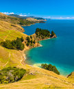 Blue Water At Marlborough Sounds, South Island, New Zealand Royalty Free Stock Photography - 45126047