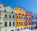 Zamosc, Poland. Historic Buildings Of The Old Town Stock Photo - 45126940