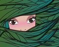 Fairy Forest Girl, Vector Illustration Royalty Free Stock Image - 45128936