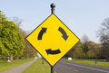 Roundabout Sign Stock Images - 45138244