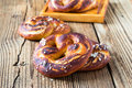Pretzels, Traditional German Baked Bread Stock Photos - 45149783