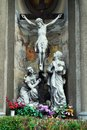 Sculptures Of The Church Of The Immaculate Conception Of Blessed Virgin Mary Royalty Free Stock Images - 45150919