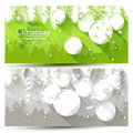 Christmas Banners Royalty Free Stock Photo - 45166275