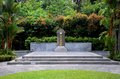Tomb Of Singapore Chinese War Hero Lim Bo Seng In MacRitchie Reservoir Stock Photography - 45202842