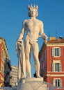 City Of Nice - Fountain Soleil On Place Massena Stock Photography - 45210622