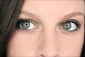 Piercing Eyes Side Glance Stock Photography - 45211932