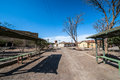 Ghost Town Humberstone In Atacama, Chile Royalty Free Stock Photos - 45218868