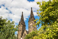 Basilica Of St Peter And St Paul In Vysehrad Stock Photography - 45219842