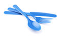 Plastic Cutlery Royalty Free Stock Photography - 45238867