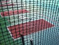 The Close View Of Batting Cage Royalty Free Stock Photos - 45238948