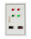 Control Box On Isolated White With Clipping Path. Royalty Free Stock Images - 45240629