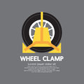 Wheel Clamp Side View Royalty Free Stock Photos - 45283838