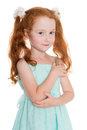 Pretty Red Haired Girl Royalty Free Stock Photos - 45290948