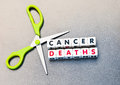Cutting Cancer Deaths Stock Images - 45295184