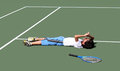 Tennis Player Stock Photography - 45302282