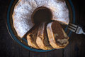 Marble Cake From Above Royalty Free Stock Photography - 45342047