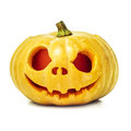 Halloween Pumpkin Isolated On White Background Stock Photo - 45346400