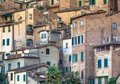 Stone Buildings In The City Of Sienna Stock Images - 45347114
