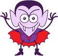 Halloween Dracula Being Mischievous Royalty Free Stock Images - 45347599