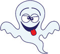 Halloween Ghost Making Funny Faces Royalty Free Stock Images - 45348019