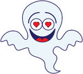 Halloween Ghost Feeling Madly In Love Royalty Free Stock Images - 45348039