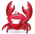 Cute Cartoon Crab Illustration. Stock Photography - 45354432