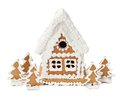 Gingerbread House Stock Image - 45360201
